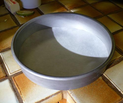 Cake pan cheesecake recipe