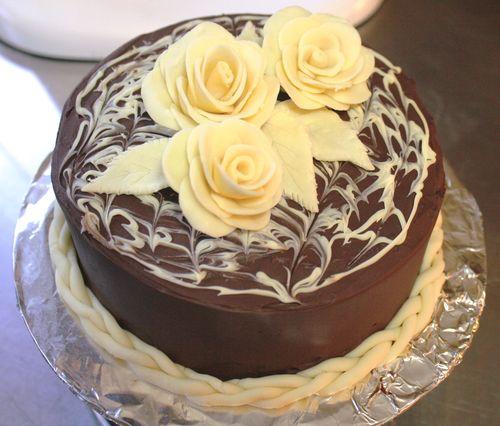 Modeling chocolate cake