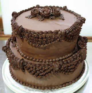 Choc-bday cake