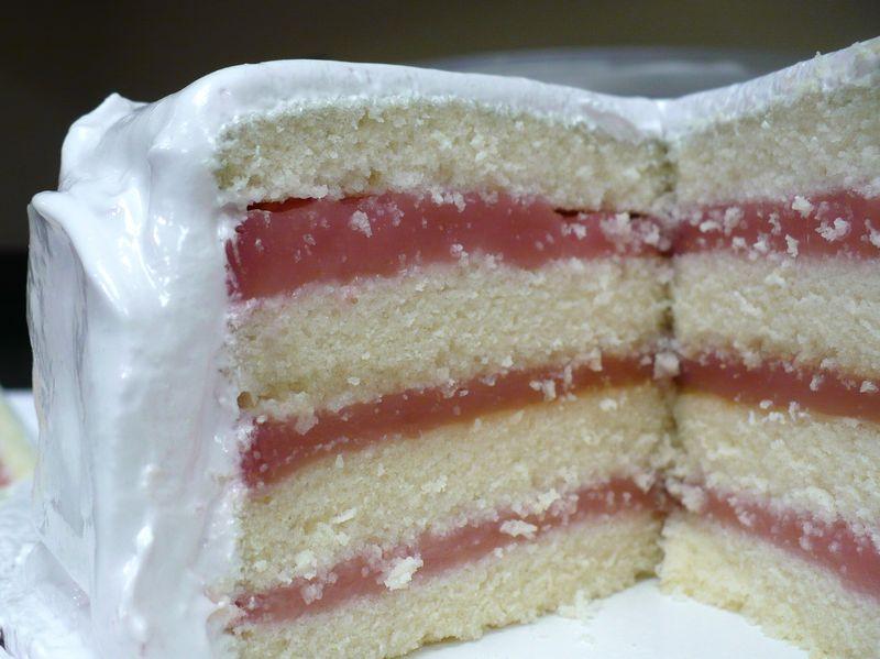 Mayflower Grape Cake